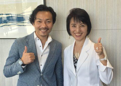 井上敬一さんと朝倉千恵子